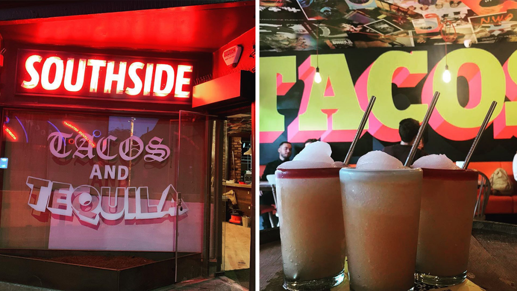 The Taco & Tequila Joint Serving Up Cheap As Chips Tacos & Frozen Margs · Southside Tequila Joint