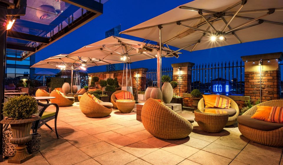 7 Ravishing Rooftop Bars In Manchester Perfect For A Summer Tipple