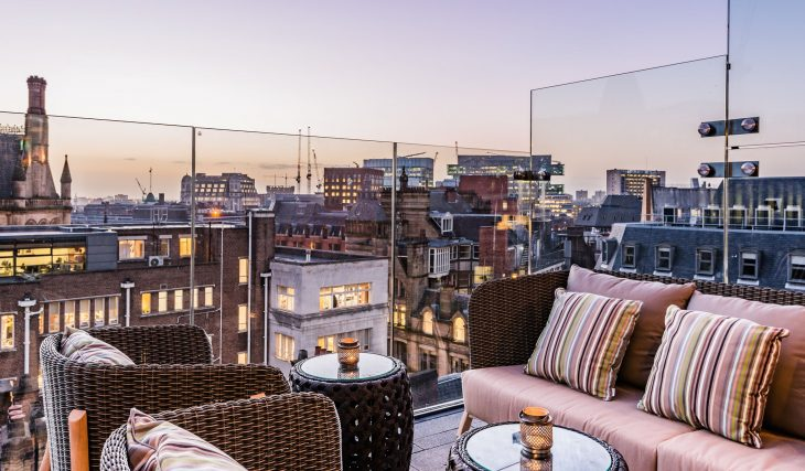 9 Ravishing Rooftop Bars In Manchester Perfect For A Summer Tipple