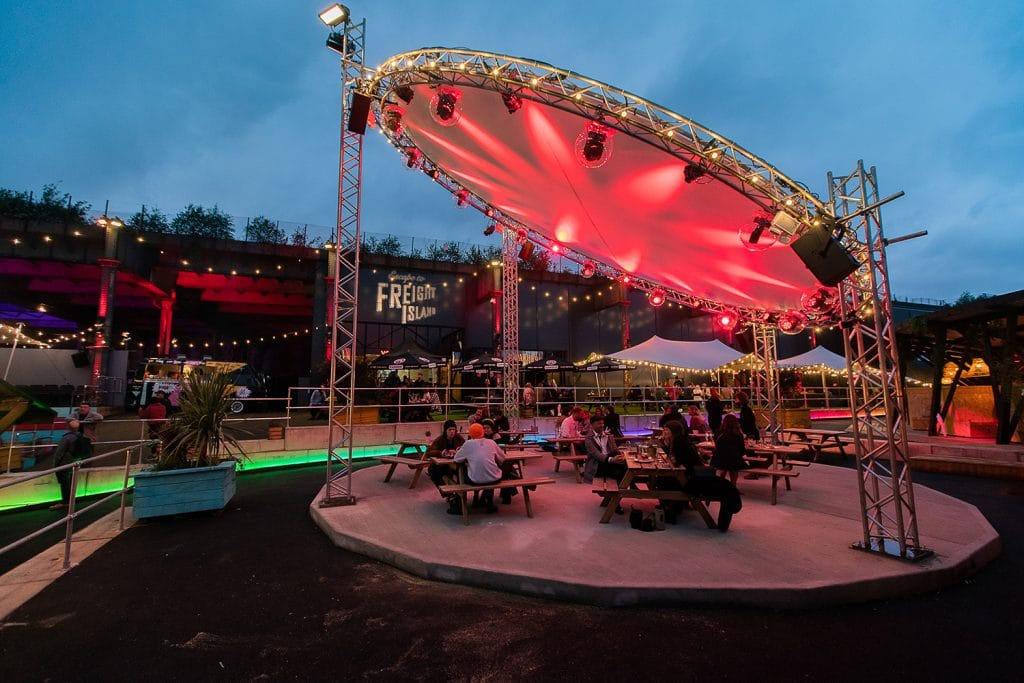 The Fun, Open-Air Entertainment Space That's Taken Manchester By Storm