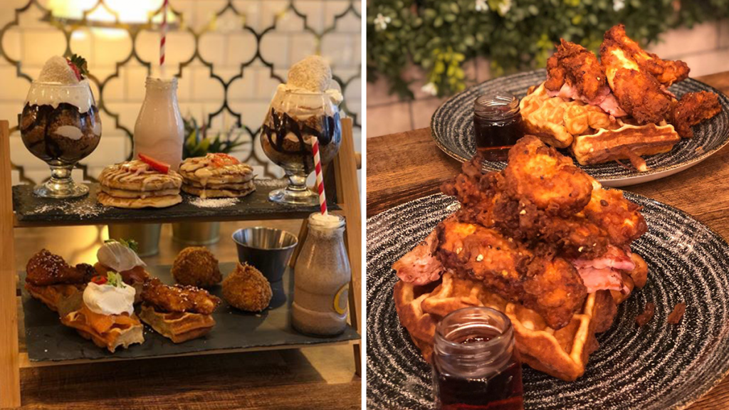 This Northern Quarter Restaurant Has Created An Afternoon Tea Packed With Milkshakes And Pancakes · Fress