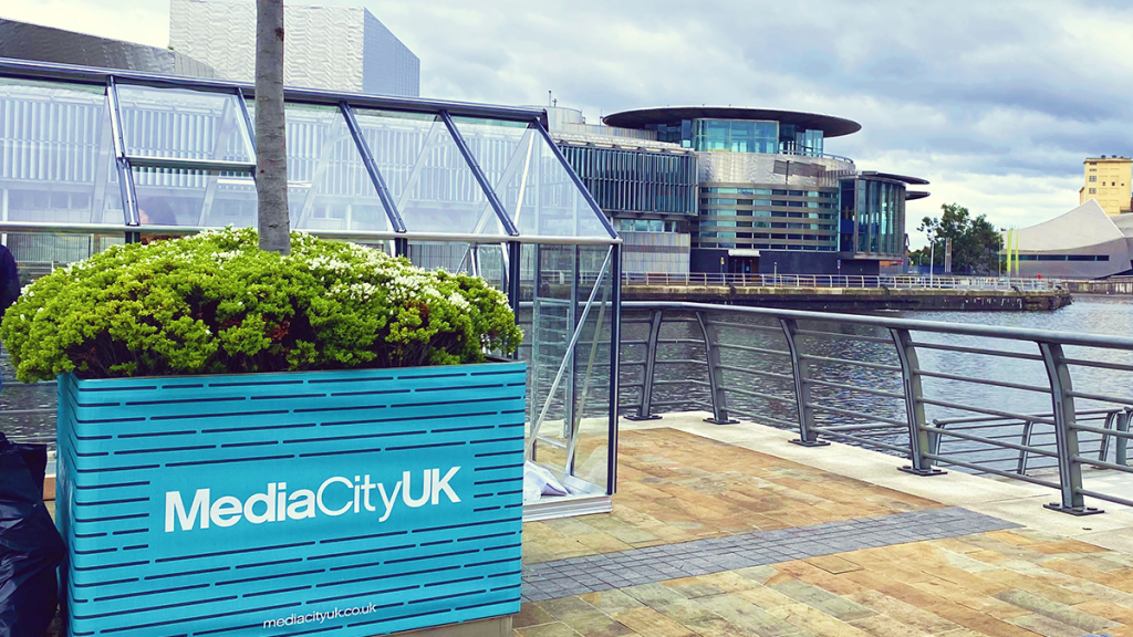 These Amazing Social Distancing Greenhouses For Dining Are Coming To MediaCityUK