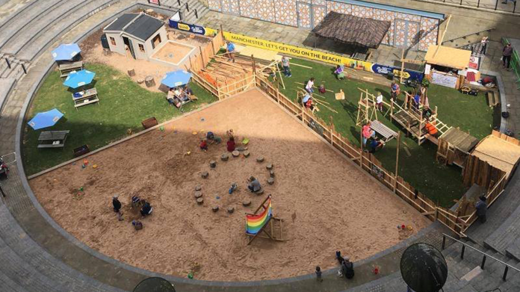 The Great Northern's Giant Sandpit Is Returning For Summer