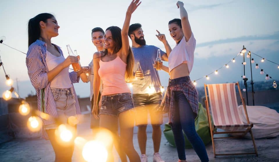 Celebrate The End Of Lockdown With This Rooftop Social Dis-Dance Party