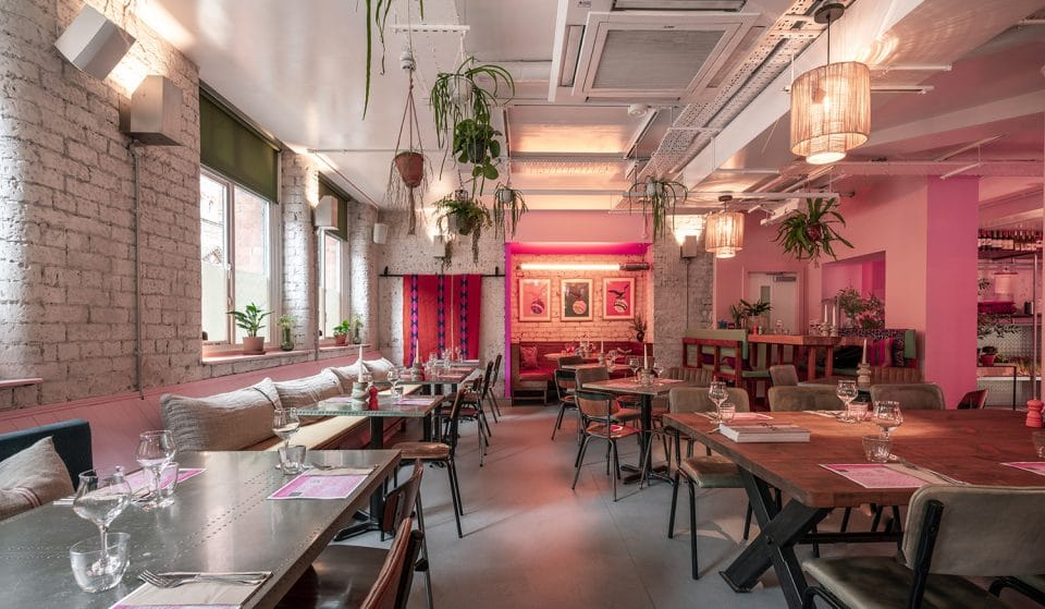 This Manchester Restaurant Has Transformed Into A Pink Paradise Thanks To Eaton House Studio