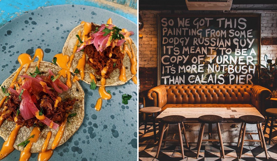 The Northern Quarter Restaurant That Serves Up £1 Tacos And Natural Wine · Wolf at the Door
