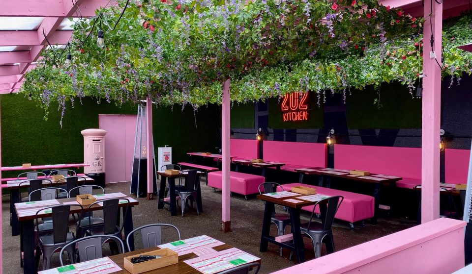 A New Pretty In Pink 'Trapbox' Bar And Restaurant Concept Is Opening In Manchester