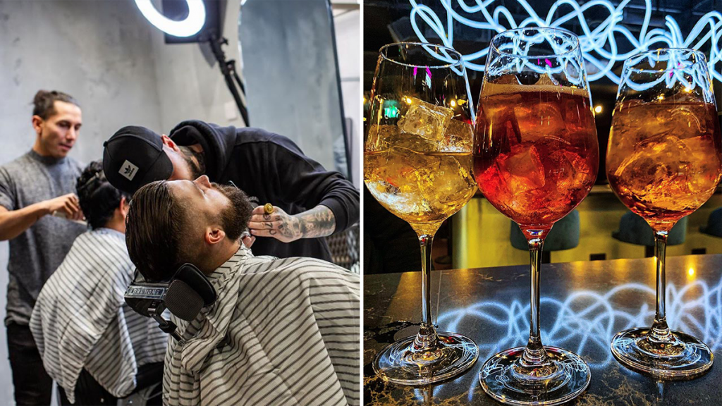 The Manchester Speakeasy Tucked Beneath An Unsuspecting Barbershop · One Eight Six