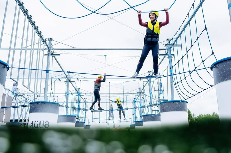 A Cool New Floating Obstacle Course Has Opened Just 40 Mins From Manchester