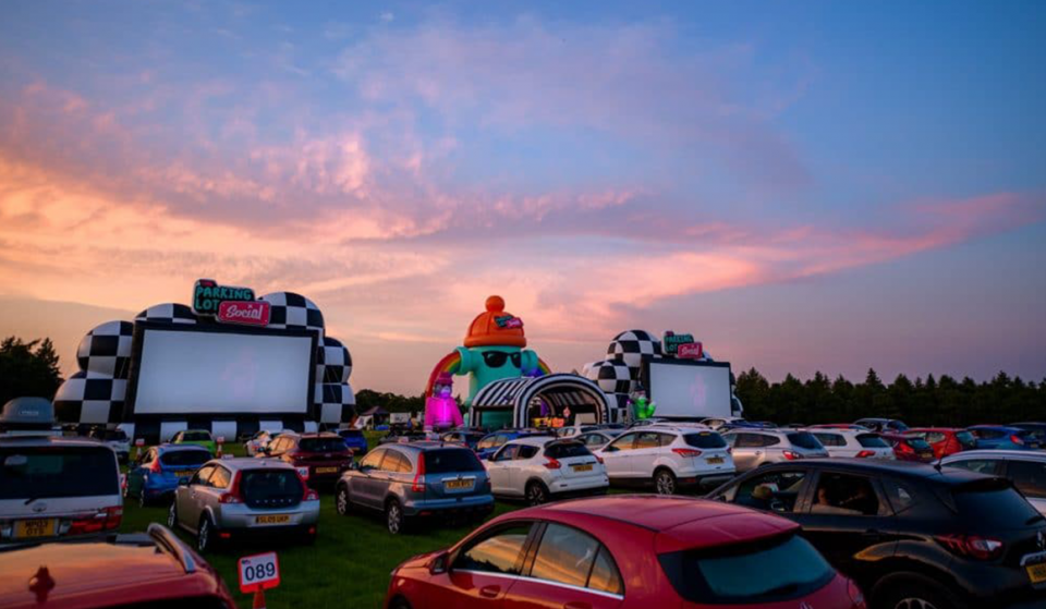 A Drive In Cinema With A Huge Screen Has Landed Less Than An Hour From Manchester
