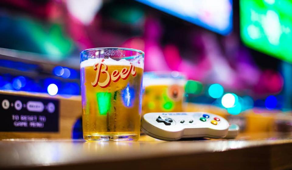 This Manchester Bar Hidden Down A Northern Quarter Back Street Is A Gamer's Paradise · NQ64