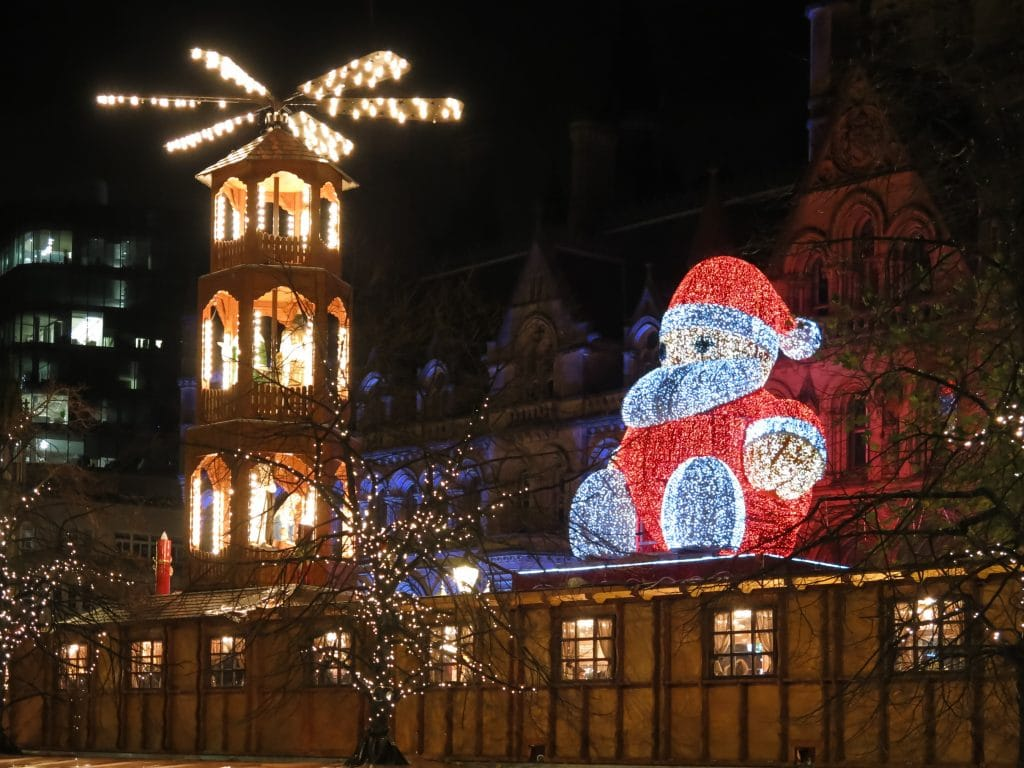 """A """"Small"""" Version Of The Manchester Christmas Markets Could Take Place This Year"""