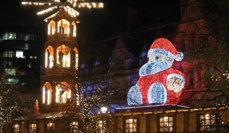 NHS Workers Will Switch On Manchester's Christmas Lights This Week