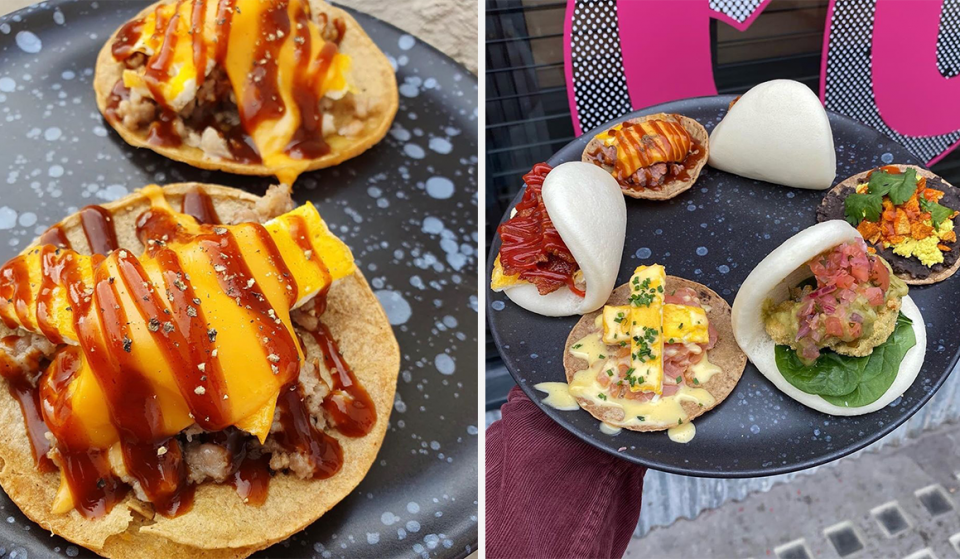 You Can Now Get Breakfast Bao Buns & Tacos At This NQ Restaurant