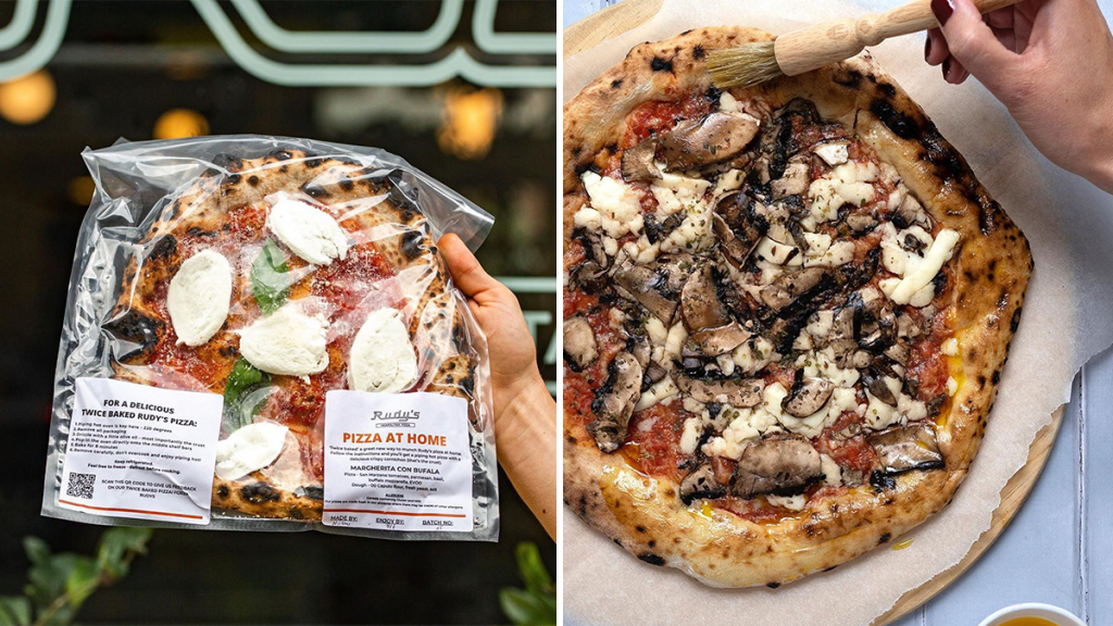 Rudy's Pizza Has Made Its 'Bake At Home' Range Available For Nationwide Delivery Permanently