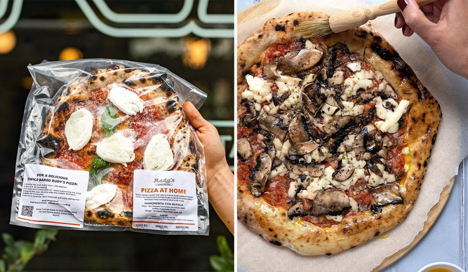 Rudy's Pizza Is Making Its 'Bake At Home' Range Available For Nationwide Delivery Permanently