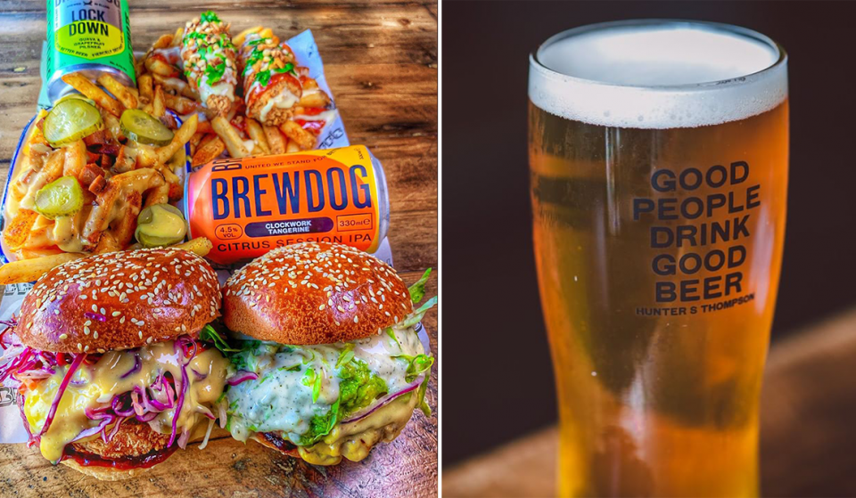 BrewDog Will Serve Vegan Burgers And Beers For One Day Only This Weekend