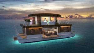Vous pourrez bientôt naviguer autour de Bora Bora dans ces villas flottantes écologiques