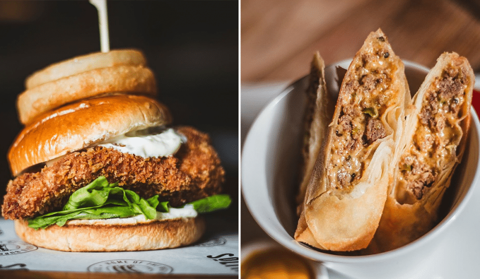 This Unique NQ Burger Joint Has Created The Ultimate Chicken Kiev Burger And I'm Drooling At The Thought