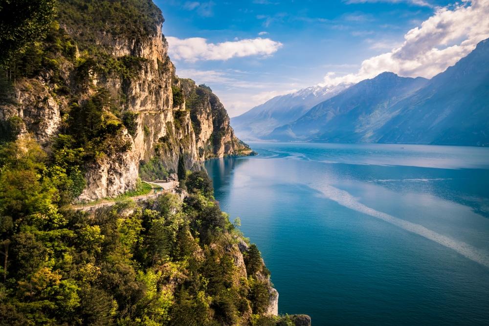 A New Bike Trail Will Allow You To Cycle Around Beautiful Lake Garda