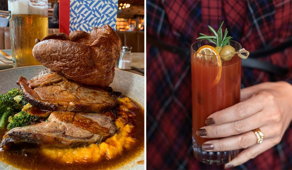 You Can Enjoy One Of Manchester's Best Sunday Roasts With Bottomless Bloody Marys This Week