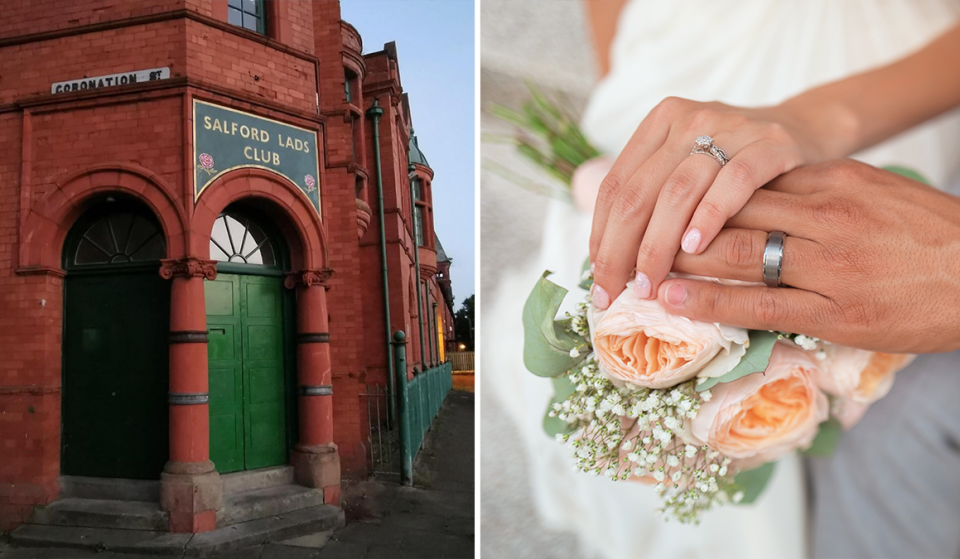 You Can Now Get Married At The Iconic Salford Lads Club – And Couples Are Already Booked In