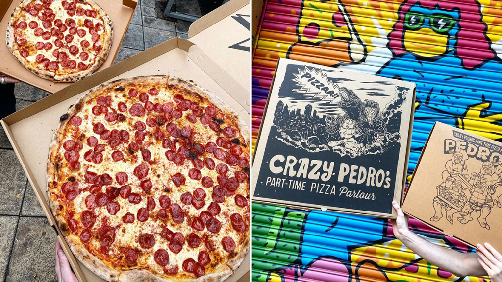 Crazy Pedro's Is Now Serving Pizza Slices Bigger Than Your Actual Head