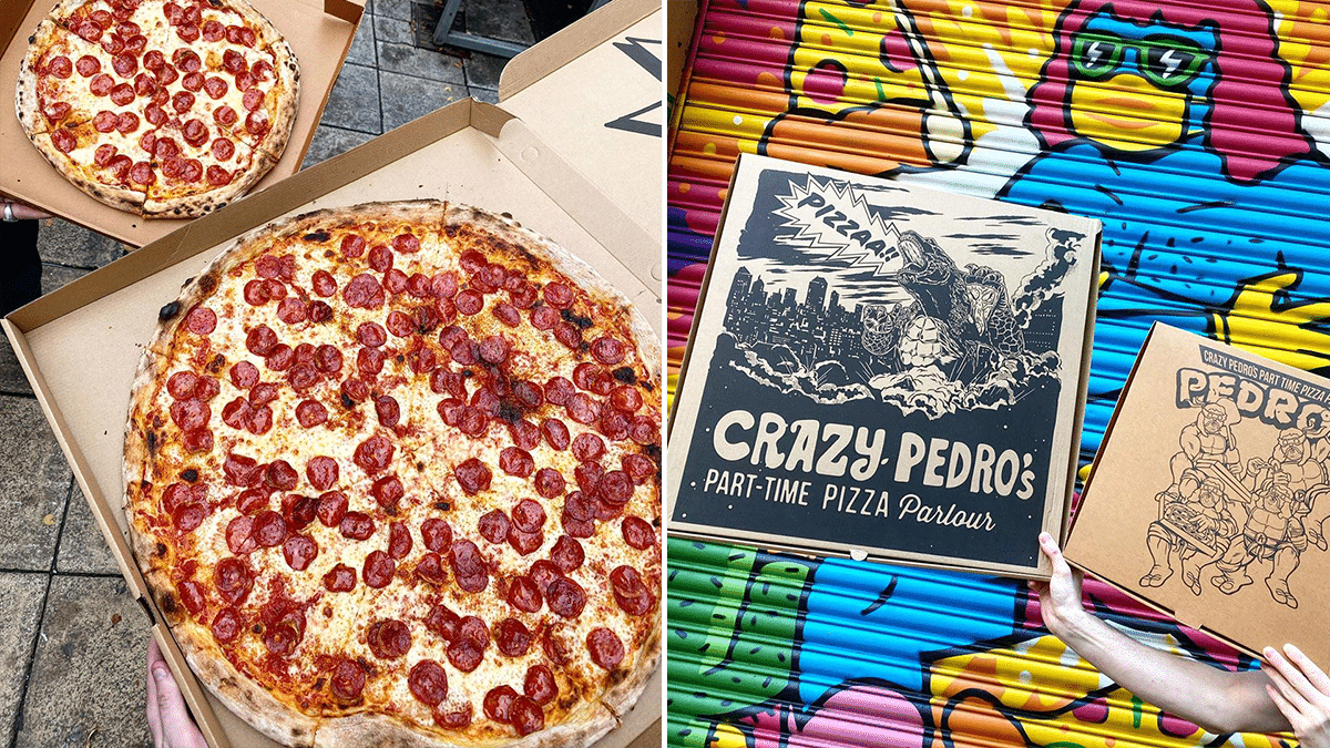 Crazy Pedro S Is Now Serving Pizza Slices Bigger Than Your Actual Head Secret Manchester