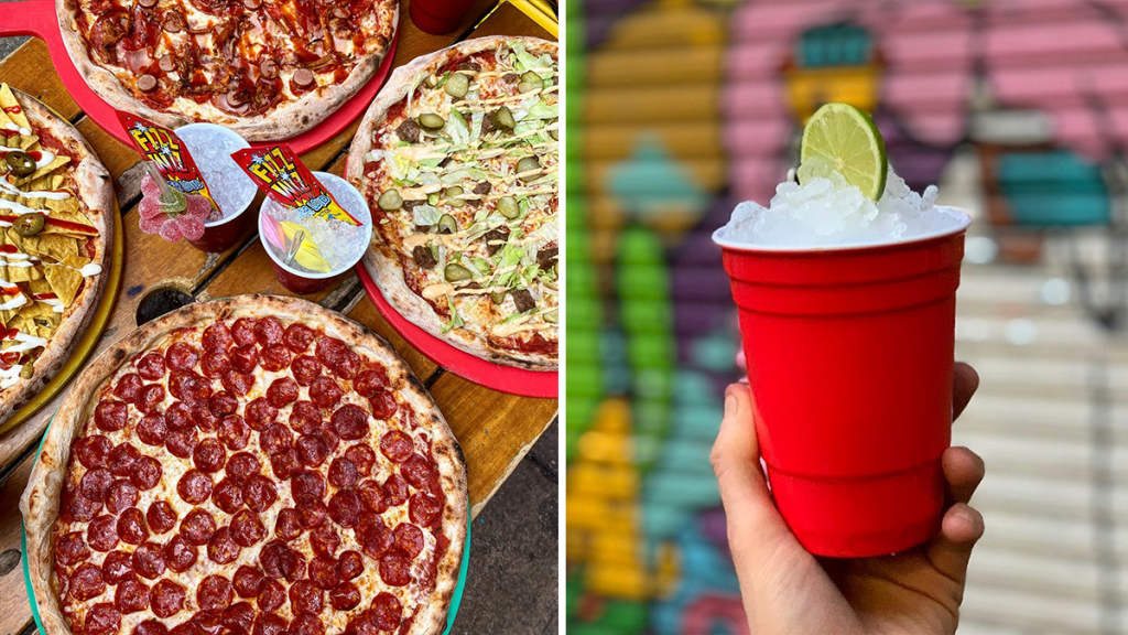 The Manchester Pizzeria Serving Bottomless Pizza And Booze Every Single Day