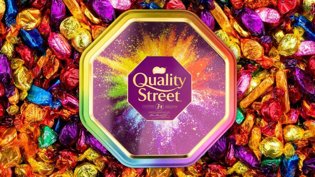 You Now Get 'Pick N Mix' Personalised Quality Street Tins And They're Absolutely Genius