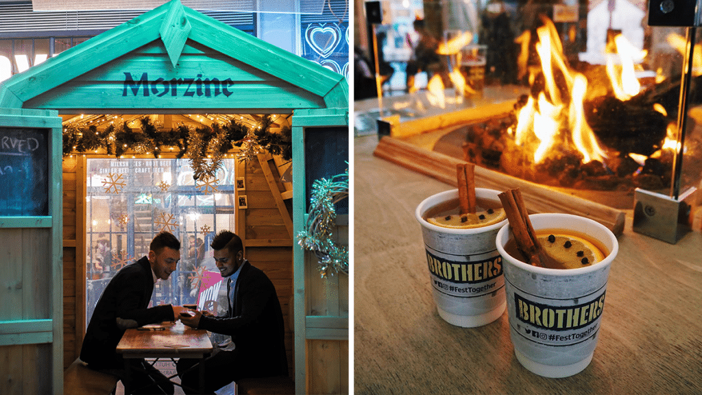 These Magical Alpine-Themed Huts With Karaoke & Festive Drinks Are Coming To Manchester