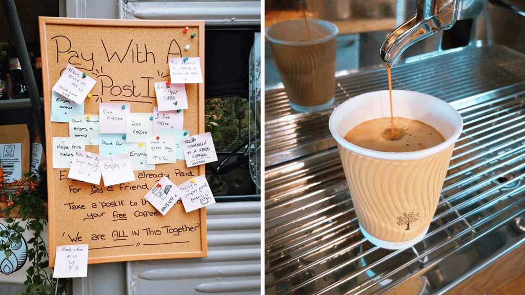 This Salford Coffee Spot Allows You To 'Pay With A Post-It' If You're Having A Rough Time