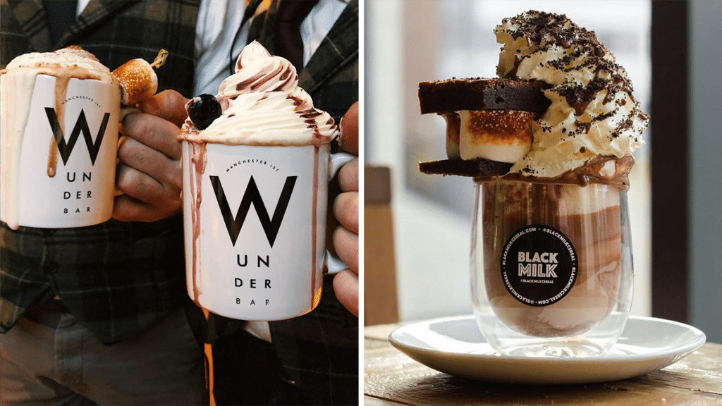 8 Of The Best Spots For A Warm & Cosy Hot Chocolate In Manchester