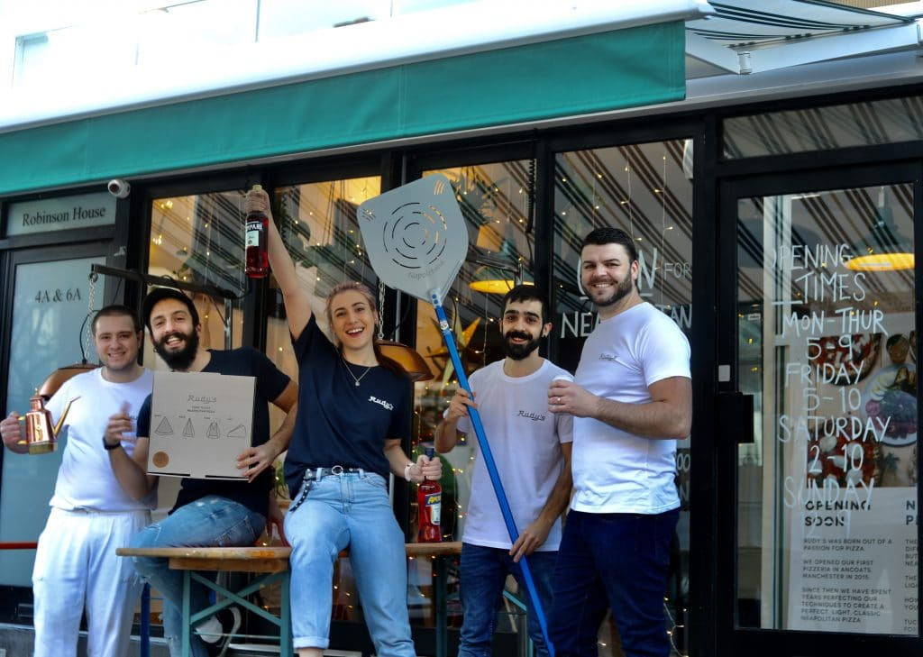 Rudy's Pizza Has Officially Opened A Brand New Restaurant In Sale