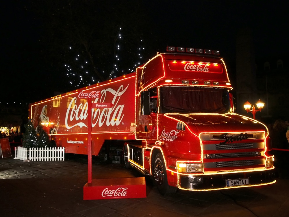 Coca-Cola's Festive Truck Tour Won't Be Happening This Year, And We're Gutted