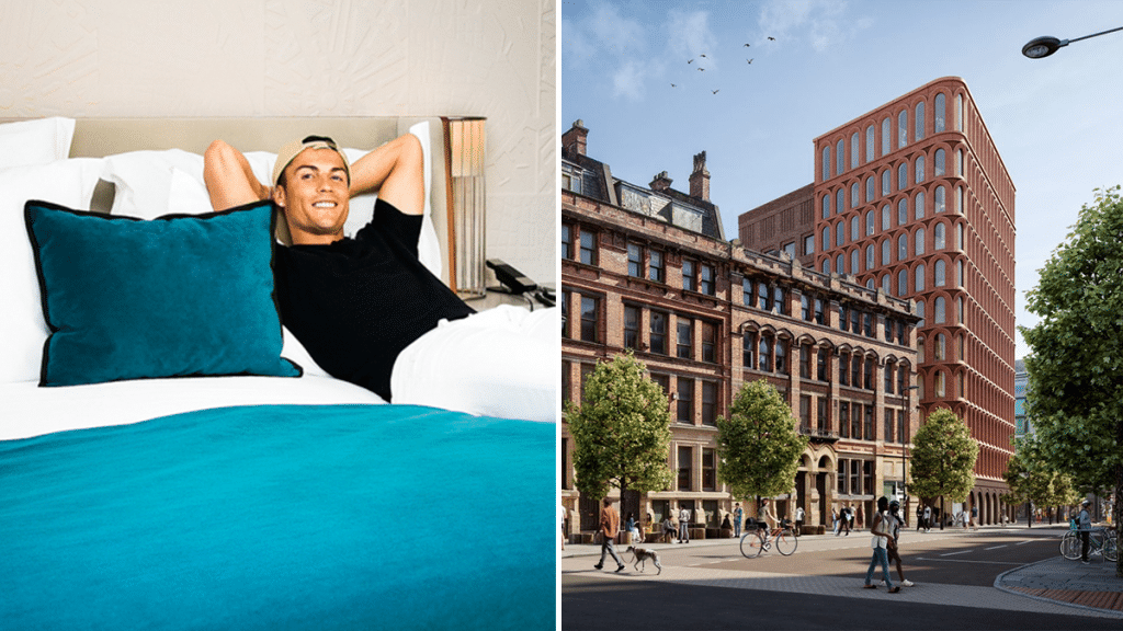 Cristiano Ronaldo Is Planning To Open A Luxury Hotel With A Rooftop Bar In Piccadilly Gardens