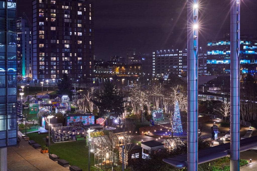MediaCityUK Will Officially Switch On Its Christmas Lights Display Tonight