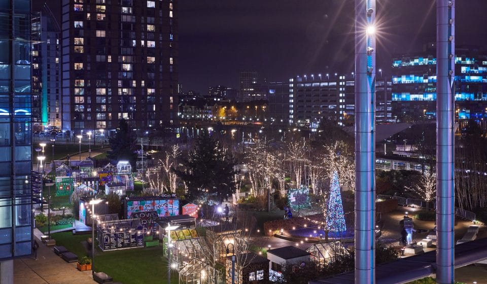 A Twinkling Christmas Market Will Take Place At MediaCityUK This Weekend