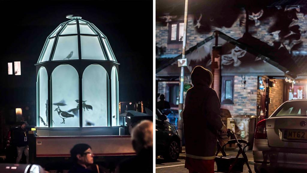 A Bird-Themed Immersive Light Show Is Travelling Manchester Neighbourhoods This Week