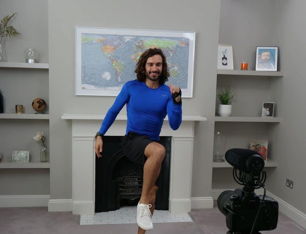 Joe Wicks wants home workouts to help people's mental health