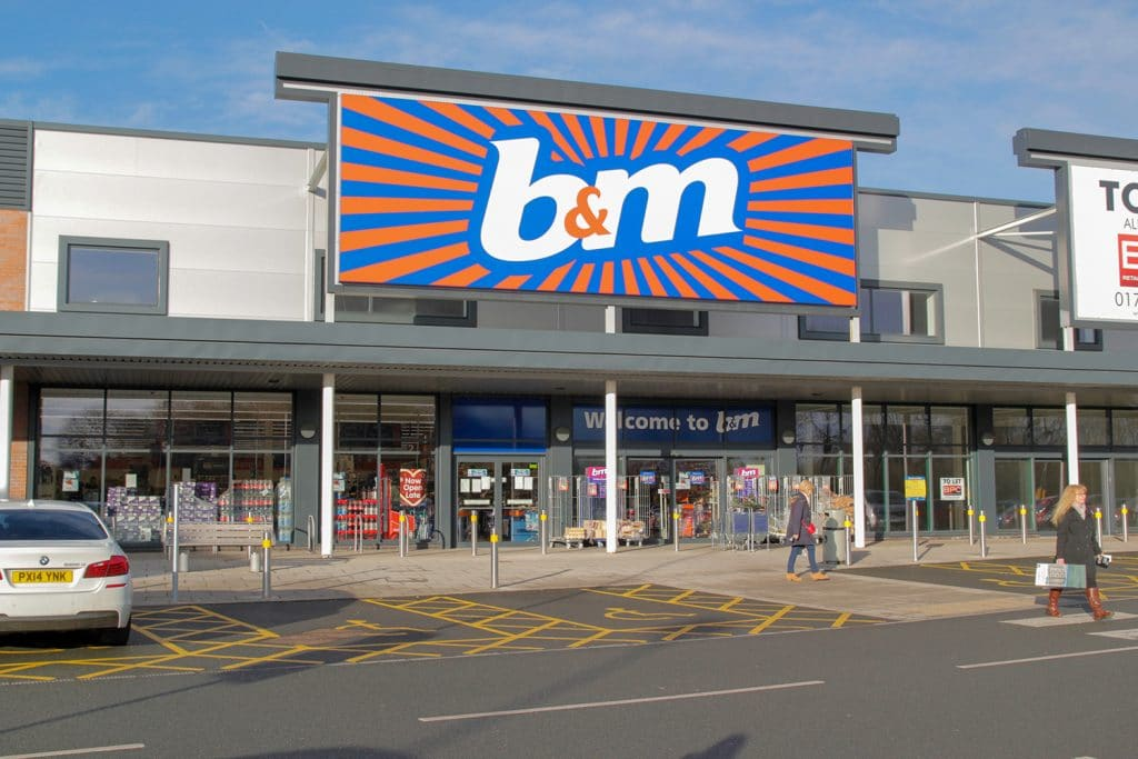 B&M To Reward Staff With An Extra Week's Wage To Say Thank You For Their Hard Work