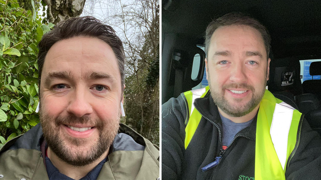 Jason Manford Has Been Taking The Elderly And Vulnerable For Their COVID-19 Vaccinations