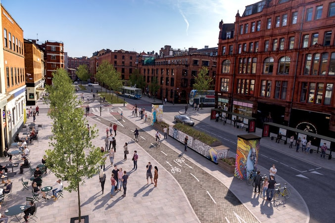The Northern Quarter Is Going To Be Permanently Pedestrianised In £2.3M Development Plan