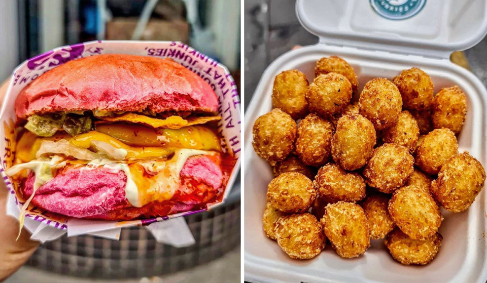 You Can Now Make Your Own Pink Vegan Burgers With These Amazing DIY Kits