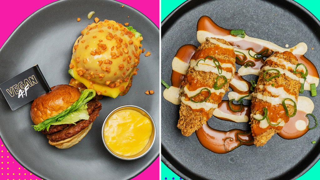 The World's First Vegan Junk Food Tasting Menu Now Exists – And You Can Get It In Manchester