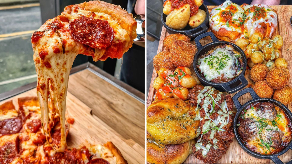 The Chicago-Style Pizza Joint Serving Tasty Deep Dish Pies & All Beige Everything