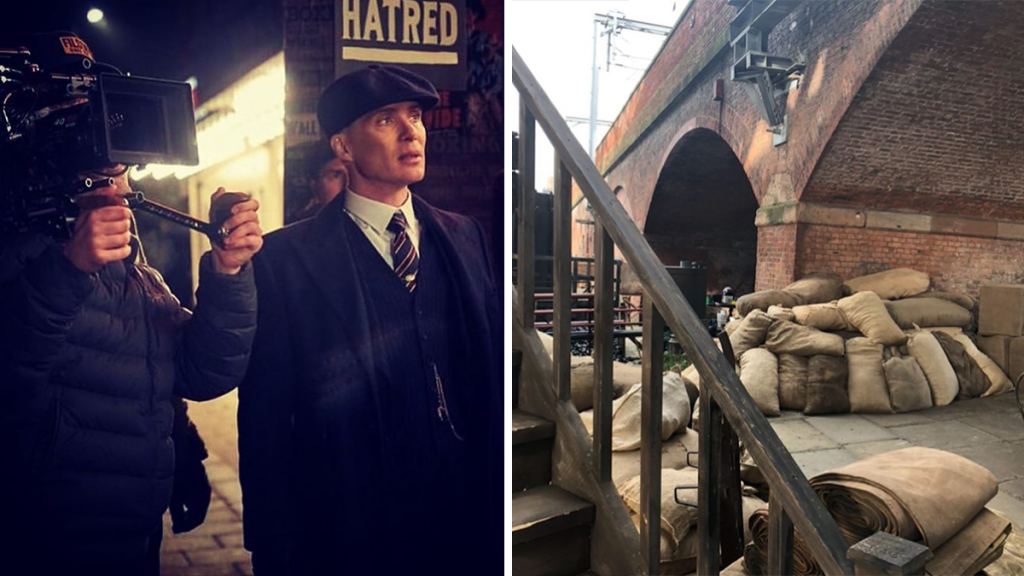 Castlefield Has Been Completely Transformed For The New Series Of 'Peaky Blinders'