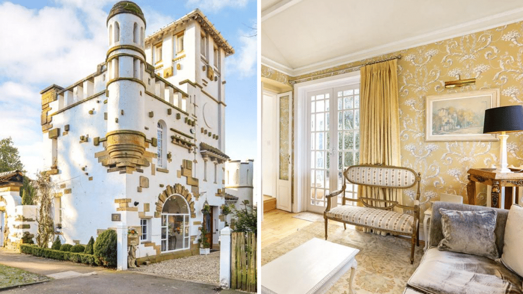 A Mini Castle With Its Own Tower Just Outside Of Manchester Has Gone On The Market