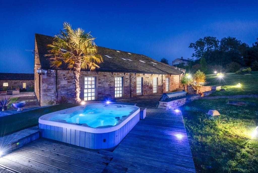 Reunite With Friends At This Huge Party Barn With Its Own Private Pool And Disco Room
