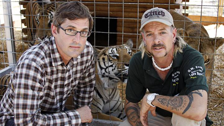 Louis Theroux Is Making A New Documentary About Infamous 'Tiger King' Star Joe Exotic